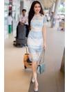 Phan Thị Mơ khoe sắc ở sân bay