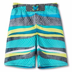 Quần bơi Cherokee Boys Waves Swim Trunk - Size XL -14-16