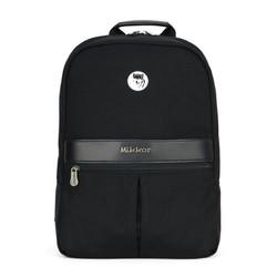 Balo laptop Mikkor The Elvis Backpack Black