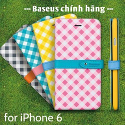 Bao da caro iphone 6 Baseus Color Match chính hãng