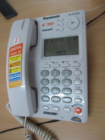Điện thoại để bàn KX T37 CID 3
