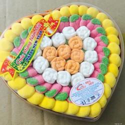 Combo 02 hộp kẹo dẻo trái tim Gummy