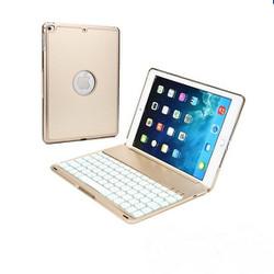 Bàn phím iPad Air bao da bluetooth tich hợp LED