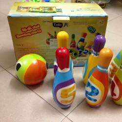 Bộ đồ chơi bowling cho bé Enfa