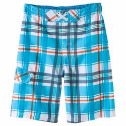 Quần bơi Cherokee màu xanh ca rô - Size 12-14