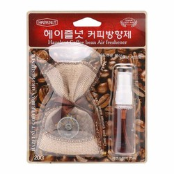 Túi thơm hương Cafe Hazelnut Korea treo ô tô văn phòng