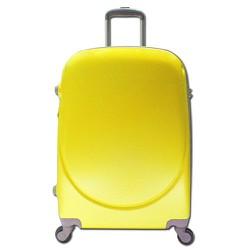 Vali kéo nhựa nhám size 28 đựng 30Kg hành lý màu vàng TL028