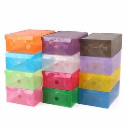 combo 10 hộp đựng giày nhựa