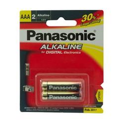 Pin đũa AAA Panasonic Alkaline LR03T 2B vỉ 2 viên