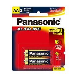 Pin tiểu AA Panasonic Alkaline LR6T 2B vỉ 2 viên