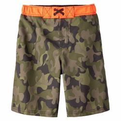 Quần bơi Cherokee Boys Camouflage Swim Trunk - Size 12-14