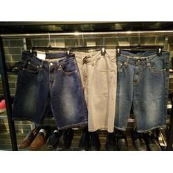Quần sort jean form suông xuất chuẩn