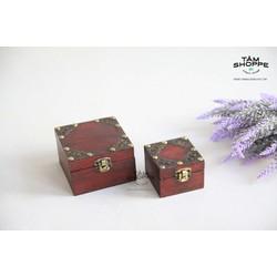 Hộp gỗ Vintage No.6