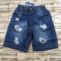 qt42 [50-70kg] Quần lửng jeans cao cấp cào rách size ĐẠI