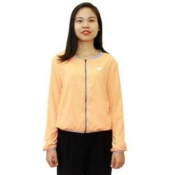 Áo khoác nữ zigzag chống nắng UPF50+ JAC00309 Orange