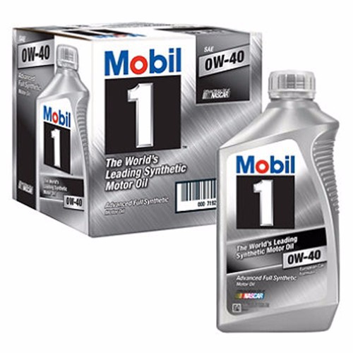 Dầu nhớt MOBIL1 0W40 nhập khẩu từ Mỹ 3