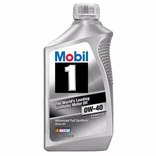 Dầu nhớt MOBIL1 0W40 nhập khẩu từ Mỹ 6