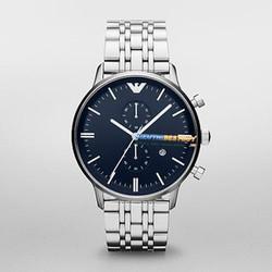 Đồng hồ nam mặt xanh sang trọng 19928