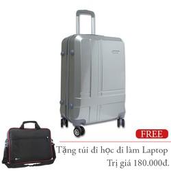 Vali kéo du lịch đựng 20Kg khóa TSA nhựa dẻo bốn bánh xoay nhẹ TL031