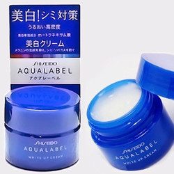 Shiseido Aqualabel White up Cream 30g kem trắng da ban đêm
