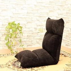 Ghế bệt tựa lưng, ghế bệt tatami Jumpo Đen