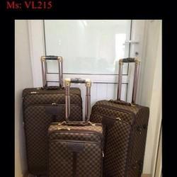 Vali kéo du lịch  caro cao cấp sang trọng và đẳng cấp VL215