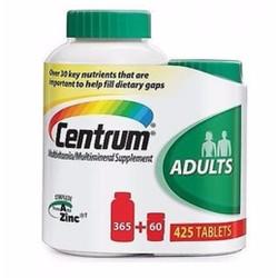 Centrum 425viên Adults từ Mỹ. Vitamin tổng hợp cho nam và nữ