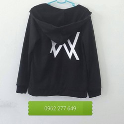 Áo Khoác Nỉ Alan Walke Sz L, XL Xanh đen