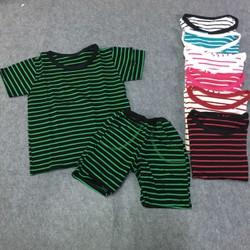 BB90 - Bộ quần áo thun kẻ sọc cho bé