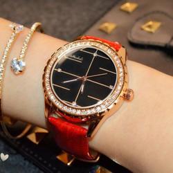 Đồng hồ dây da nữ thời trang cao cấp HDDH022 MAUDO
