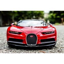 Xe Mô Hình Bugatti Chiron 1:18 BBURAGO Đỏ