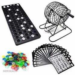 Bộ Đồ Chơi LôTô Bingo lồng sắt