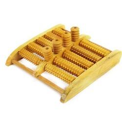 Bàn gỗ massage chân
