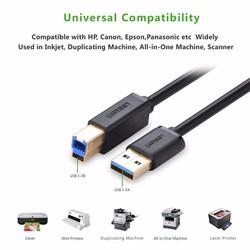 Cáp usb 3.0 dùng cho ổ cứng cắm ngoài hoặc máy in Ugreen 10372