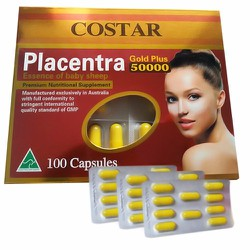 Nhau thai cừu Costar placentra 50000mg Gold Plus từ Úc