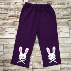 Quần legging lửng in thỏ