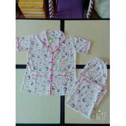 Pyjama Hello Kitty hồng