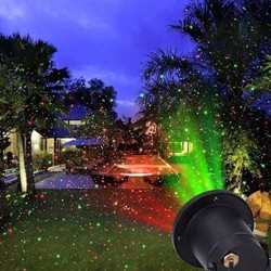 Đèn Laser chiếu sáng ngoài trời Star Shower Laser Light