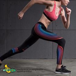 Quần nữ tập gym thể thao, yoga, chạy bộ 3D