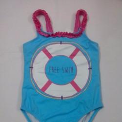 Áo bơi Gymboree Free Swim màu xanh - Size 7, 8