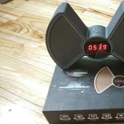 DS-7605 loa Bluetooth mới với màn hình hiển thị đồng hồ báo thức