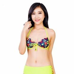 Bộ Đồ Bơi Nữ Mimosa Dạ Quang Họa Tiết