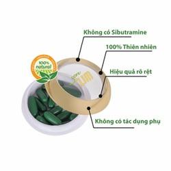 Viên thảo mộc detox giảm cân Sen Slim 100 phần trăm thiên nhiên