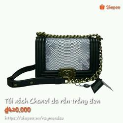 Túi xách thời trang da rắn