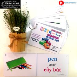 Flashcard tiếng Anh cho bé KatchUp - Chủ đề Trường học