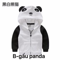 Áo khoác panda