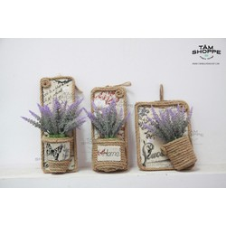 Chậu hoa treo tường Vintage Lavender No.10
