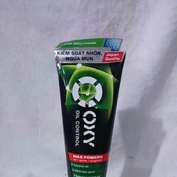 OXY Oil Control - Kem rửa mặt kiểm soát nhờn ngừa mụn nam