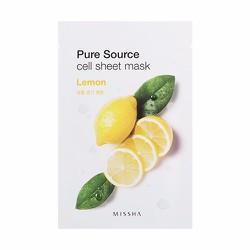 Mặt nạ Pure Source Cell Sheet Mask #Lemon