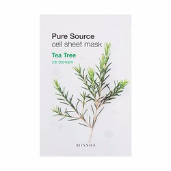 Mặt nạ Pure Source Cell Sheet Mask #Tea Tree